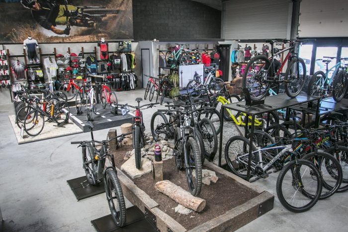 Vue d'ensemble du magasin all bikes 7