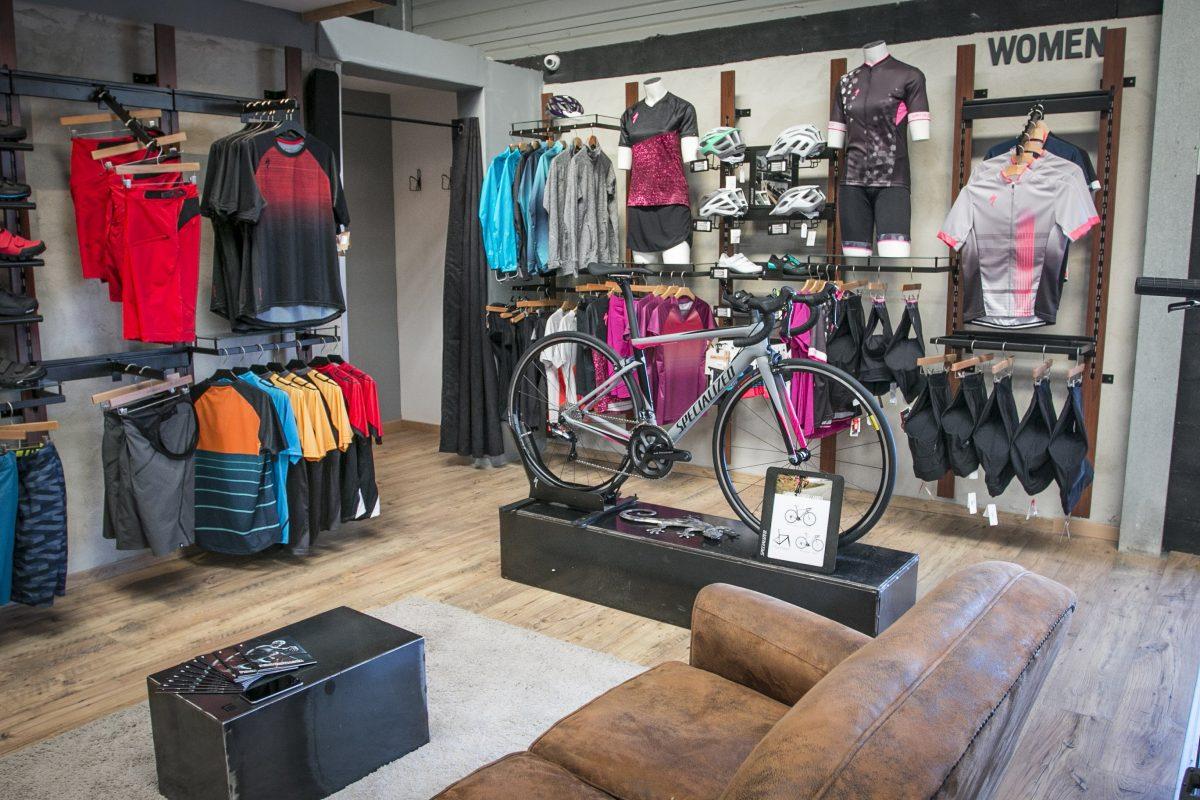 Rayon dédié vélos pour femme